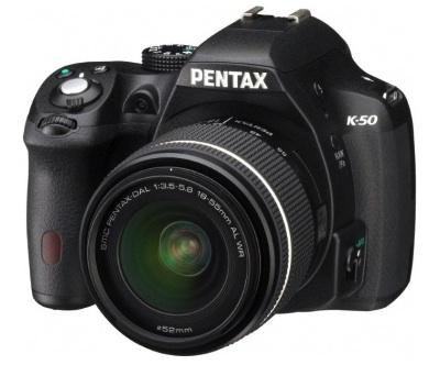 Pentax K-50 Front