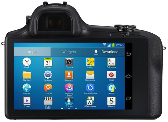 Samsung Galaxy NX Back