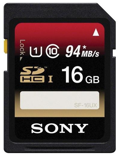 Sony 16GB Class 10 SDHC