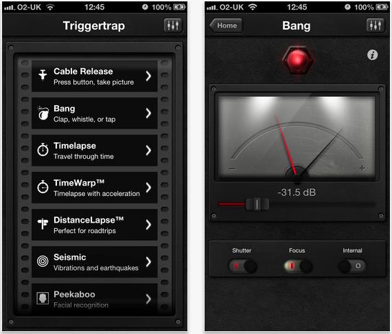 Triggertrap iOS App