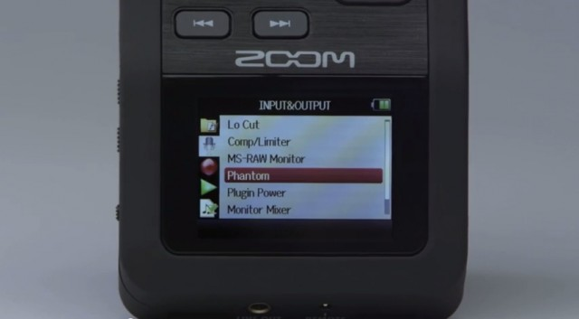 Zoom H6 Display