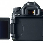 Canon 70D Back LCD