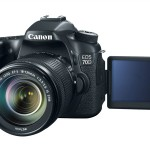 Canon 70D Front LCD