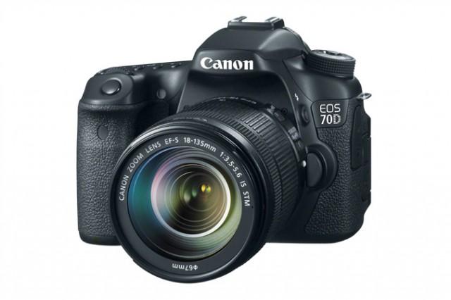 Canon 70D Объектив