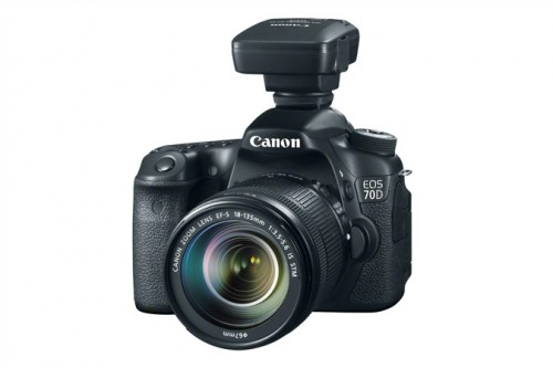 Canon 70D with GPS Receiver GP-E2