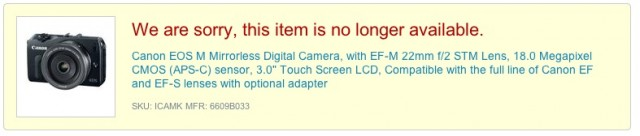 Discontinued EOS M