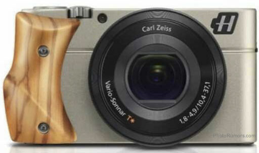 Hasselblad Stellar with olive wood grip