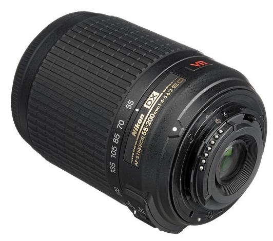 Nikon AF-S 55-200mm Lens