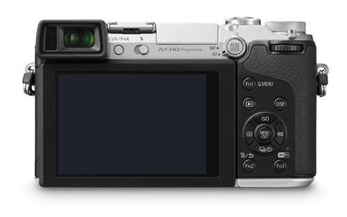 Panasonic GX7 Back