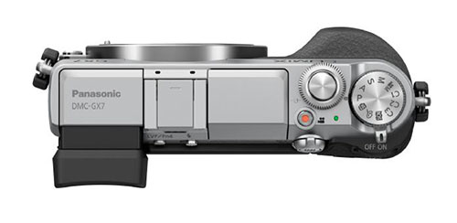 Panasonic GX7 Top