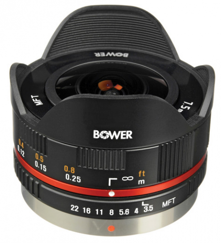 Bower 7-5mm Fisheye Lens