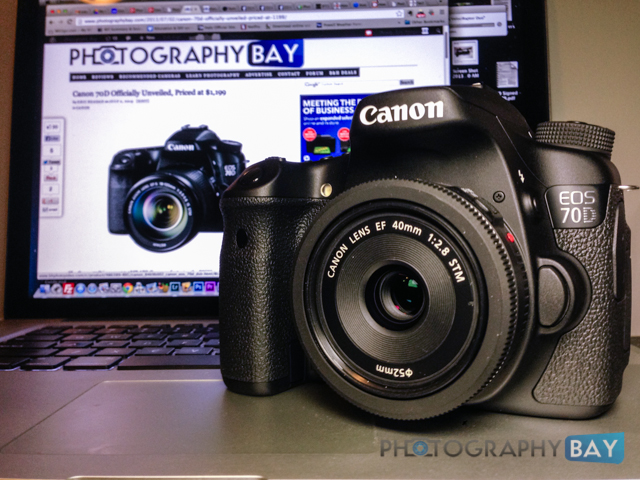 Canon 70D Hands-On