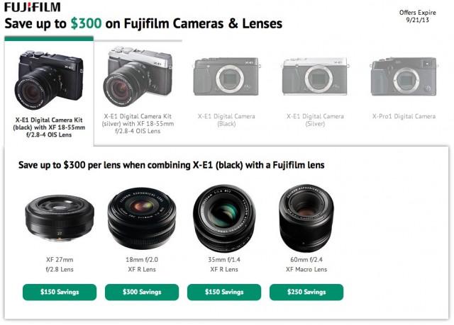 Fuji X-Series Sale