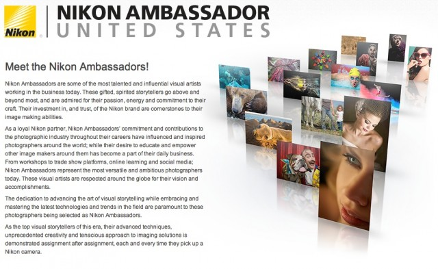 Nikon Ambassador