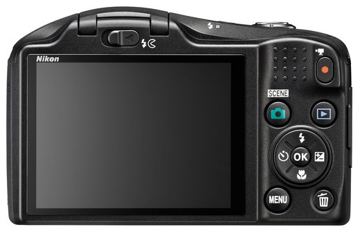 Nikon Coolpix L620 Back