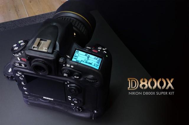 Nikon D800x Top