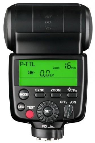 Pentax AF540FGZ II LCD