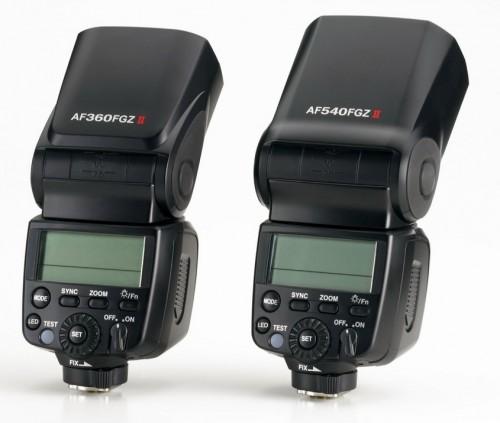 Pentax AF540FGZ II and AF360FGZ II