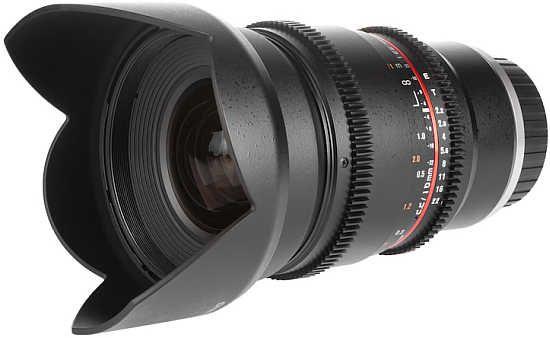 Samyang 16mm T2.2 Cine Lens