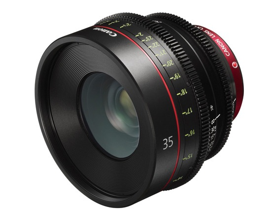 Canon EF 35mm Cinema Prime Lens