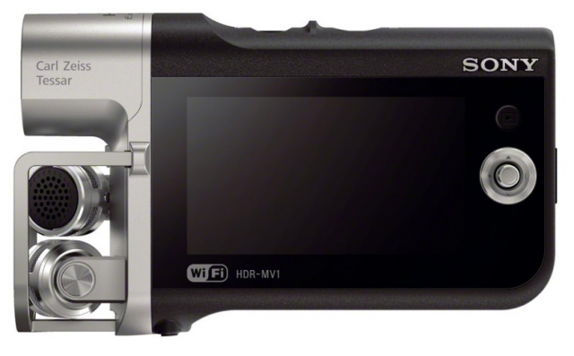 Sony HDR-MV1 Side