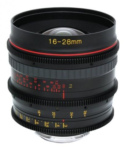 Tokina 16-28mm Cine Lens