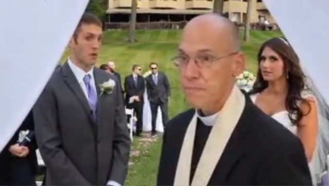 Wedding Officiant Asks Photographer to Leave