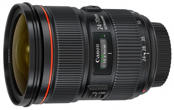 Current Canon 24-70mm f/2.8 Lens