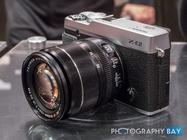 The Fuji X-E2 is very much an evolution of the popular Fuji X-E1. It
