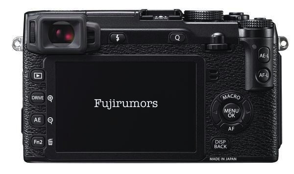 Fuji X-E2 Back