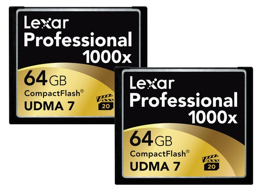 Lexar 64GB CF 2-Pack