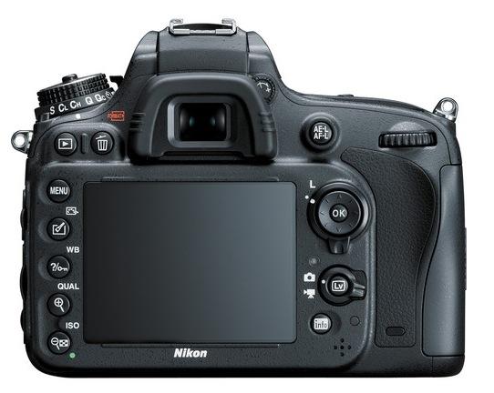 Nikon D610 Back