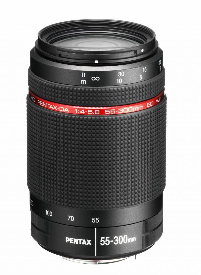 Pentax HD DA 55-300mm ED WR Lens