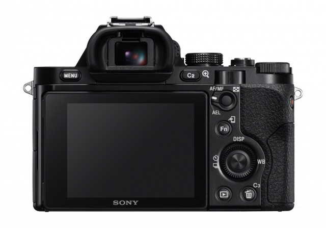 Sony A7 Back