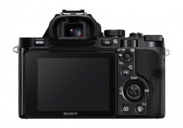 Sony A7 Back