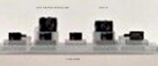Sony NEX-A7 and NEX-A7r