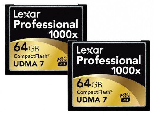Lexar Pro 1000x CF Cards