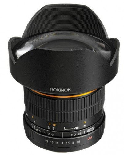 Rokinon 14mm Lens