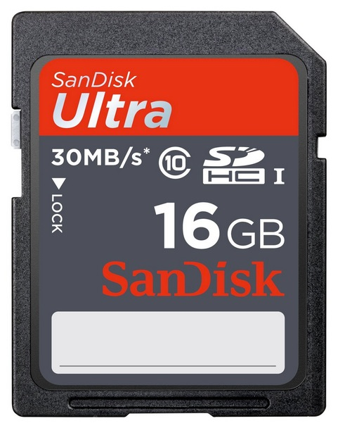 SanDisk 16GB SDHC Ultra