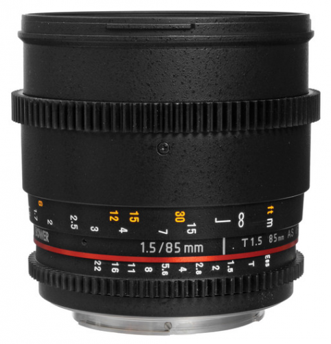 Bower 85mm T1.5 Cine Lens for $279 – Deal Alert