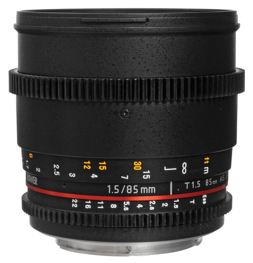 Bower 85mm T1.5 Cine Lens