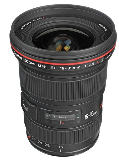 Canon EF 16-35mm Lens