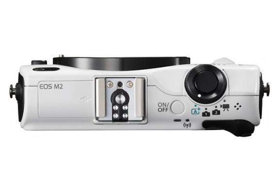 Canon EOS M2 Top