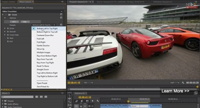 NewBlueFX Adds Support for Native Transitions in Premiere Pro CC