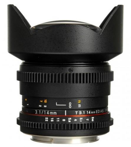 Rokinon 14mm Cine Lens