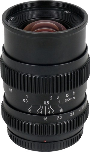 SLR Magic 17mm T1.6 Cine Lens