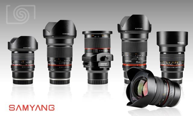 Samyang E-Mount Lenses