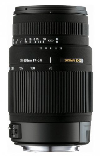 Sigma 70-300mm f/4-5.6 DG OS Lens for $199 – Deal Alert
