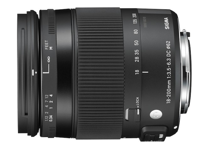 Sigma 18-200mm Lens