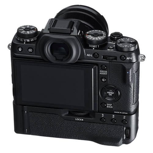 Fuji X-T1 with battery grip